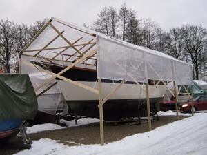 Båd m vinterstativ II copy